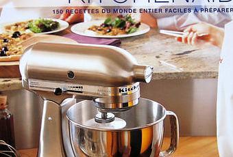 Livre recettes kitchenaid index et photos paperblog - Livre cuisine kitchenaid ...