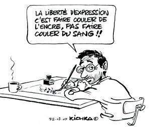 Des caricatures de presse exposées à Paris