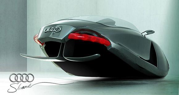shark audi concept de voiture volante d couvrir. Black Bedroom Furniture Sets. Home Design Ideas