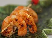 Crevettes aperitives comme spare ribs, recette sucrée-salée