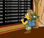 Générique Simpson façon Star Wars