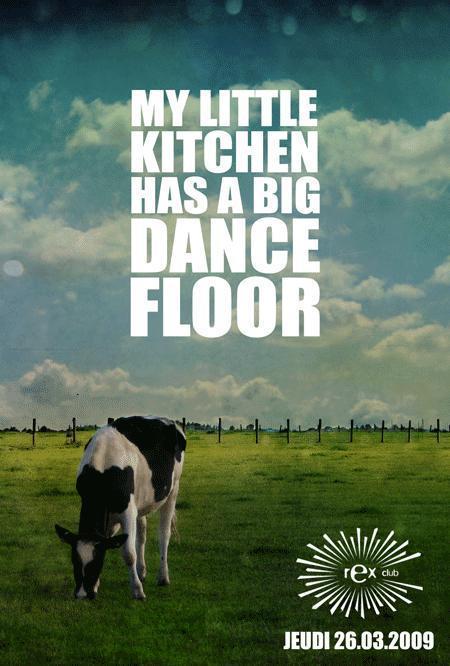 My little kitchen has a big dancefloor soir e au rex for Ze kitchen galerie dress code