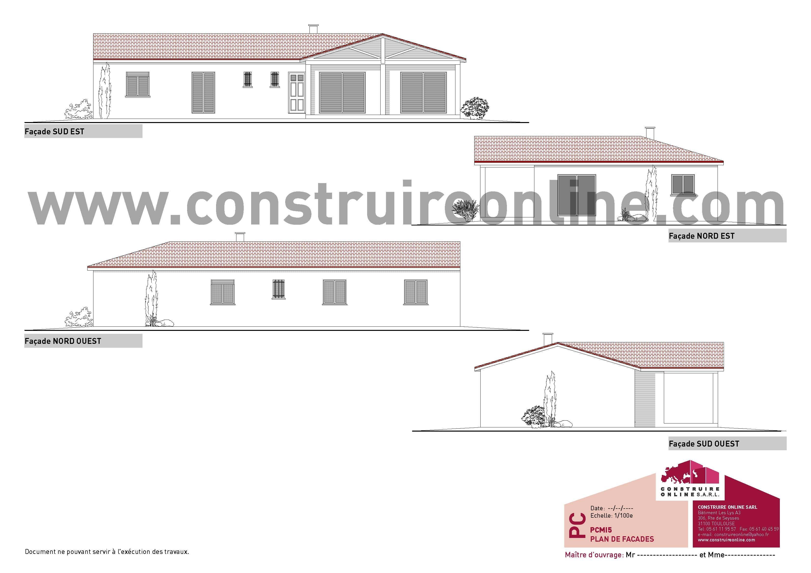 Elegant Pice Pmi Permis De Construire De Maison Uac Voir Permis De With Construire  Online Com Plan De Maison Catalogue