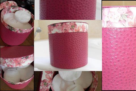 Pin boite rose au crochet pour decoration accessoires de for Decoration accessoire maison