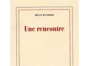 rencontre, Milan Kundera, essai mémoire
