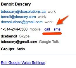 google voice De GrandCentral à Google Voice