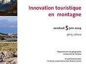 Formation continue: innovation touristique montagne
