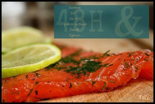Du saumon marin dit gravlax en voil une id e - Saumon gravlax rapide ...