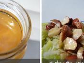 Salade chou blanc, purée noisettes