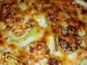 Gratin courgettes express