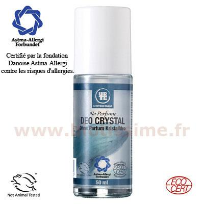 Déodorant bio sans parfum urtekram