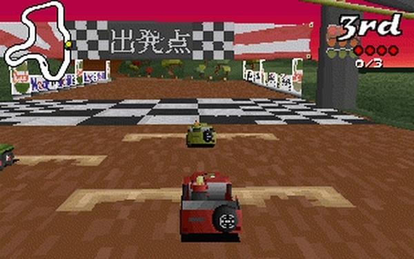 Jeux videos nostalgie paperblog for Big red racing