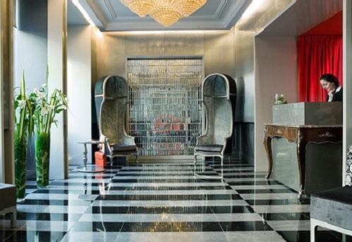 H tel lumen paris louvre le boutique hotel de charme de for Charme design boutique hotel favignana