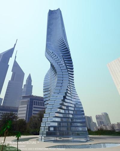 Da Vinci Tour. Dynamique de l'architecture à Dubaï. Da-vinci-tour-dynamique-larchitecture-dubai-L-2