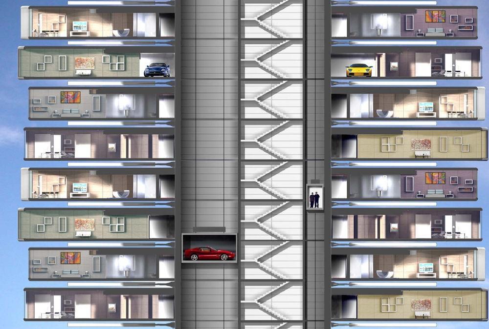Da Vinci Tour. Dynamique de l'architecture à Dubaï. Da-vinci-tour-dynamique-larchitecture-dubai-L-4