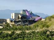 Marqués Riscal l'architecte Frank Gehry signe hôtel spectaculaire Espagne