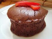 Fondant chocolat poivrons rouges caramÉlisÉs