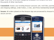 Après l'iPhone, l'application Amazon pour BlackBerry