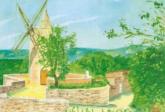 Villages autour du luberon en peinture n 14 paperblog for Peinture du liberon