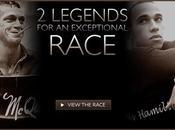 Heuer organise duel entre Steve McQueen Lewis Hamilton