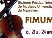6ème Festival international musique universitaire Marrakech, avril
