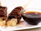 Brochettes japonaises boeuf fromage