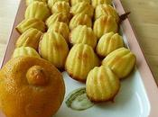 Mini madeleines bergamote
