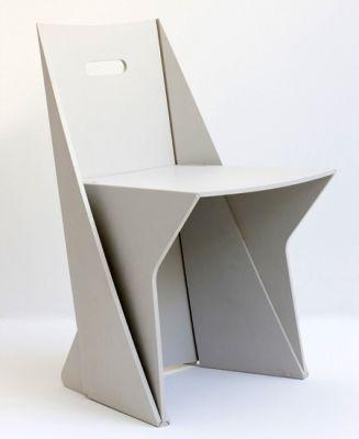 Lapel la chaise origami de stuart mc farlane paperblog for Chaise origami