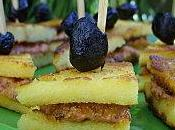 Minis club-sandwichs polenta délice crétois