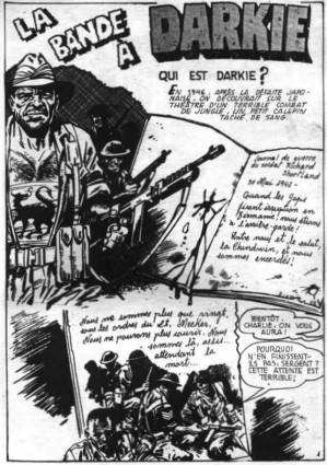 Tags : La bande à Darkie, article, bd, Bengali, petit format, Mon Journal, Darkie's Mob, Mike Western, bad company, Battle, bande dessinée anglaise, comics, John Wagner