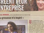 Article mompreneurs dans Parisien