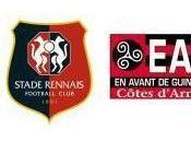 """Rennes """"Rouge Noir"""" face Guingamp"""