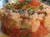 Tartare saumon citron confit