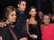 [PHOTOS] Aishwarya Abhishek Bachchan @Shammi Aunty Bash