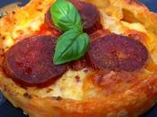 Tarte tomate, mozzarella Longanice