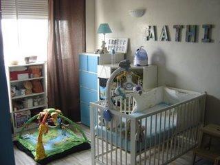 La chambre de b b voir - Coin bebe dans chambre des parents ...