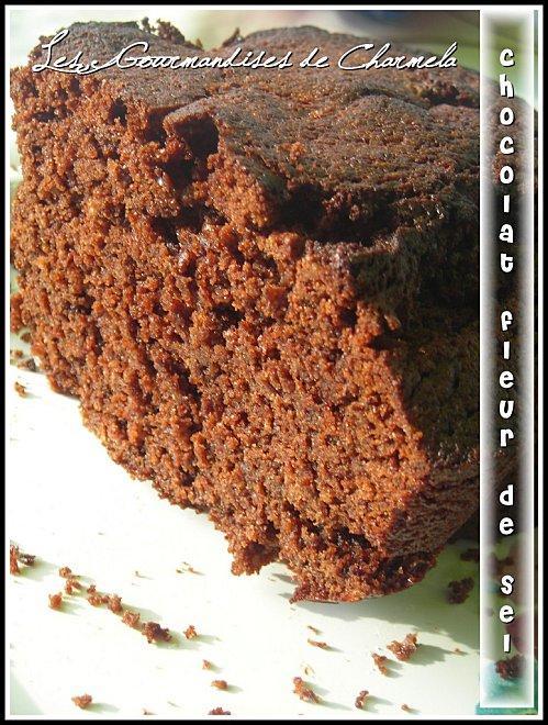 Cake au chocolat la fleur de sel de pierre herm paperblog for Cake au chocolat pierre herme