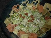 Coeurs pâtes brocoli, tapenade verte, poutargue