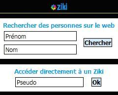 Ziki dispo sur mobile