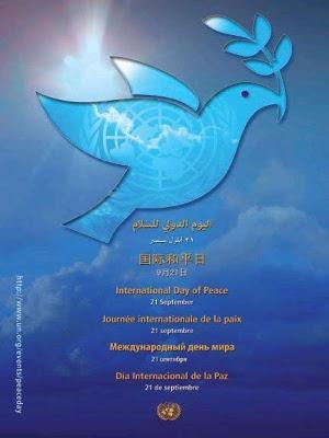 La Journée internationale de la paix