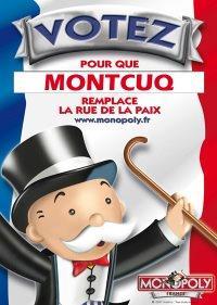 Votez Montcuq pour le Monopoly