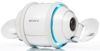 Le nouveau balladeur de Sony est un robot du nom de Rolly.