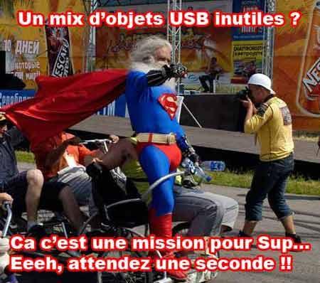 Nouvelle dose d'objets USB inutiles