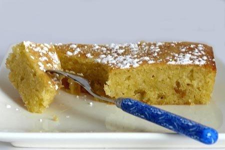 G teau a l 39 huile d 39 olive citron et chocolat blanc ou carres citronnes lire - Gateau a l huile ...