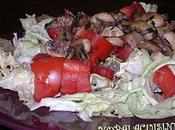 Salade crousti-fondante tuiles-champignons