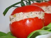 Tomates piquantes farcies thon philadelphia