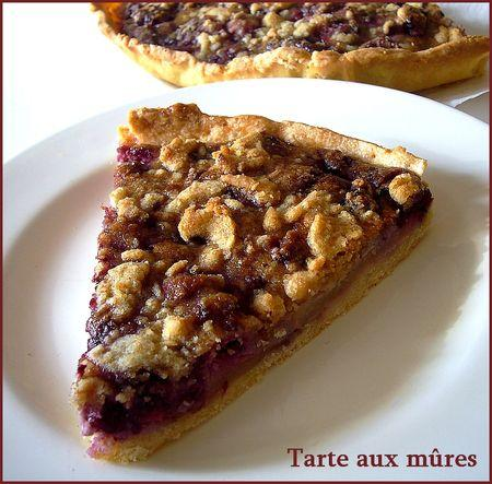 tarte crumble aux mures d couvrir. Black Bedroom Furniture Sets. Home Design Ideas