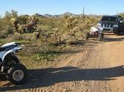 Accident dans désert