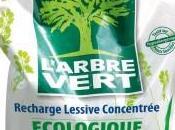 produits L'Arbre Vert, maintenant disponibles éco-recharges