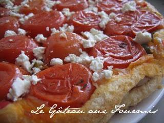Tarte de Tomates Tatin